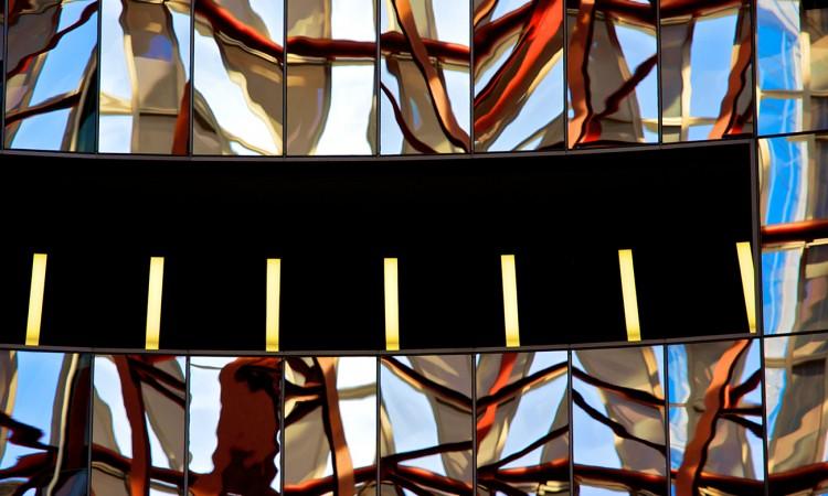 Diffraction - USA- Chicago- 07-Photographie abstraite, par Muriel Marchais