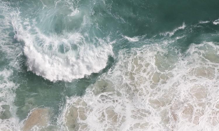 Mer déchaînée -02- Afrique du Sud- Cap de Bonne Espérance- 02- Photographie de Muriel Marchais.
